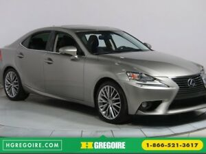 2014 Lexus IS 250 AWD BLUETOOTH CUIR TOIT MAGS