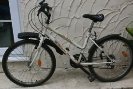 Girl's mountain bike