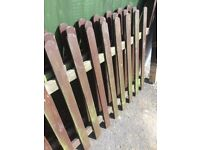 Good condition fence Panels x3