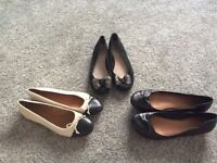 Ladies size 8 leather shoes