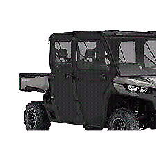 REDUCED Can Am Defender max rear soft doors
