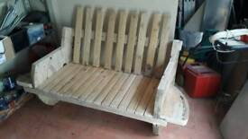 Cable Drum Sofa Custom made
