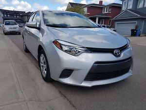 2015 Toyota Corolla LE Sedan with only 45K
