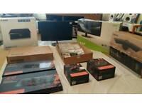 Monitors,gaming equipment etc