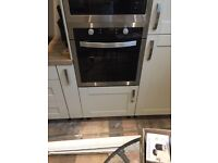 Brand new built in electric fan oven