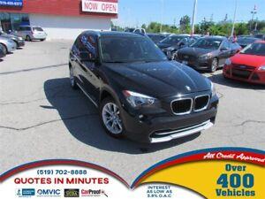 2012 BMW X1 xDrive28i   AWD   SUNROOF   LEATHER   HEATED SEATS