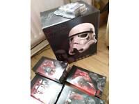 Star wars black series tie fighter & helmet