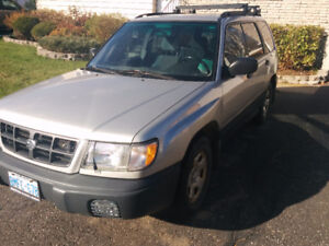2000 Subaru Forester, As is, Parts or Fixer Upper