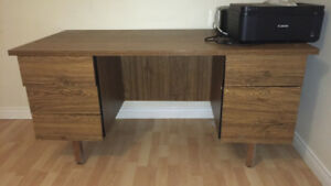 Large Desk w/ 5 drawers