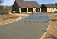 Beautiful concrete work for all sizes of jobs