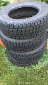 Brand new winter tires 235/70r16