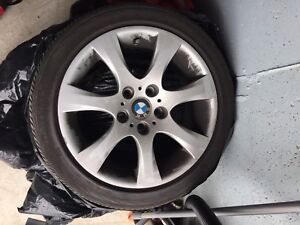 """17"""" OEM Wheels with Rubber"""