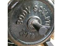 Weights and weighted bar