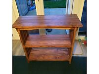 Small bookcase/ hallway stand