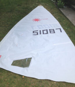 Laser Sailboat Sail - Official Laser Class North Sail - Full-Rig