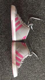 Girls size 1 Adidas Neo boots