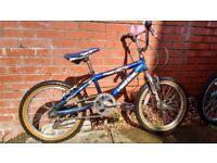 "Boys mini BMX bike. 16"" wheels. Suit 4 - 8 year old."