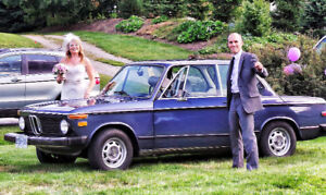 BMW 2002 Perfect for a Bride and Groom