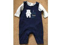 Newborn boy clothes bundle all from Boots Mini Club.