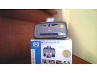 hp photosmart printer will work with most digital cameras. takes hp 110 ink cartridges.