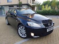 Lexus IS 220d 2.2 4dr 2008 FULL LEXUS HISTORY+1 DR OWNR FRM NW+AUX 6 SPEED+1 YR MOT
