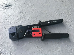 Eithernet cable, crimper and connectors