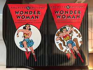 WONDER WOMAN DC ARCHIVES HC #1-4 DC COMICS