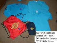 beavers uniform description on picture collection from didcot smoke and pet free home £10