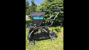 sit n stand stroller- in great condition