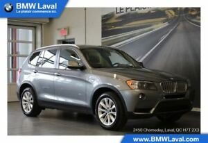 2013 BMW X3 xDrive35i TOIT PANORAMIQUE