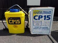 Cooper Pegler 15ltr knapsack hand operated sprayer
