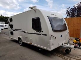 2012 Bailey Orion 450/5 5 Berth caravan FIXED BUNKS, BARGAIN !!