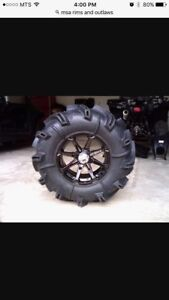 Can am tires or rims