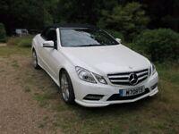 Mercedes Benz E220 BlueTEC AMG Styling Pack Sport Cabriolet Great Condition, FMSH, 12m MOT & Service
