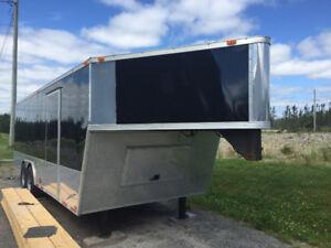 For sale a 2012 28' gooseneck cargo trailer