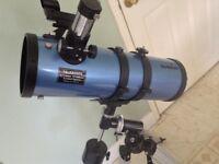 SkyWatcher Skyhawk Telescope with tripod
