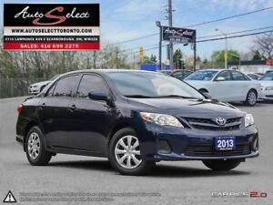2013 Toyota Corolla ONLY 80K! **SUNROOF** CLEAN CARPROOF