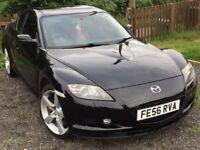 Lovely little black Mazda rx8 (231)