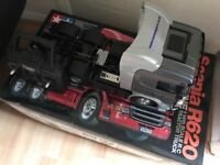 Tamiya RC Scania R620 truck / lorry RTR with MFC01