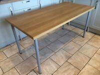 IKEA Linmon Oak Effect Desk - unused