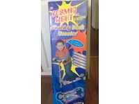 Cosmic light flashing deck scooter -- new in box