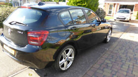 BMW 118D SPORT AUTO 2013(13) ONLY 54K MILES, FBMWSH