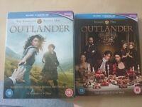 Outlander Season 1 and 2 Bluray