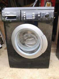 Black Edition Bosch varioperfect washing machine