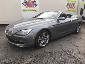2012 BMW 6 Series 650i, Auto, Navi, Convertible, Only 47,000km