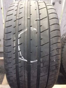 255/35R19 TOYO PROXES T1 sport tire...1 piece only