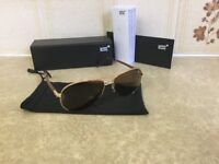 Brand new men's original Mont Blanc sunglasses