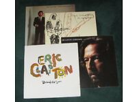 ERIC CLAPTON VINYL LP SELECTION