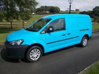 VOLKSWAGEN CADDY MAXI TDI 102PS VAN 11 REG, 49,400 MILES AIR CON