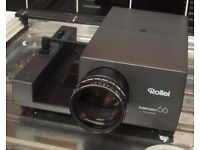Projector For Large Format Slides (Rollei 66)